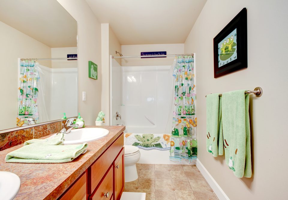 Kids' Bathroom Ready for a Fresh Coat of Paint?