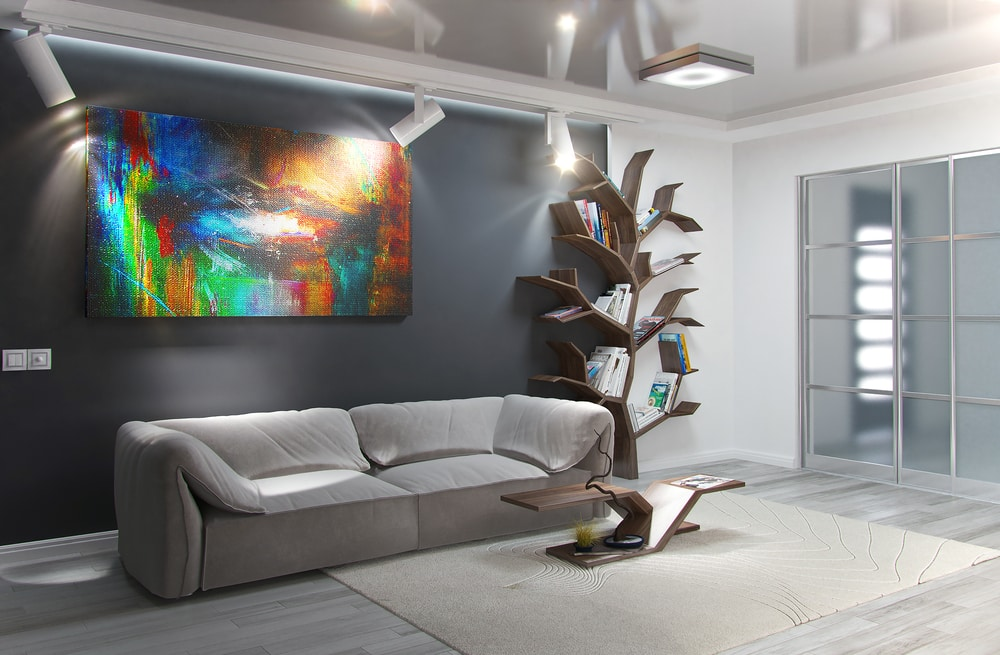 Accent Wall Ideas: Include Art, a Mirror, or a Favorite Color in Your Design